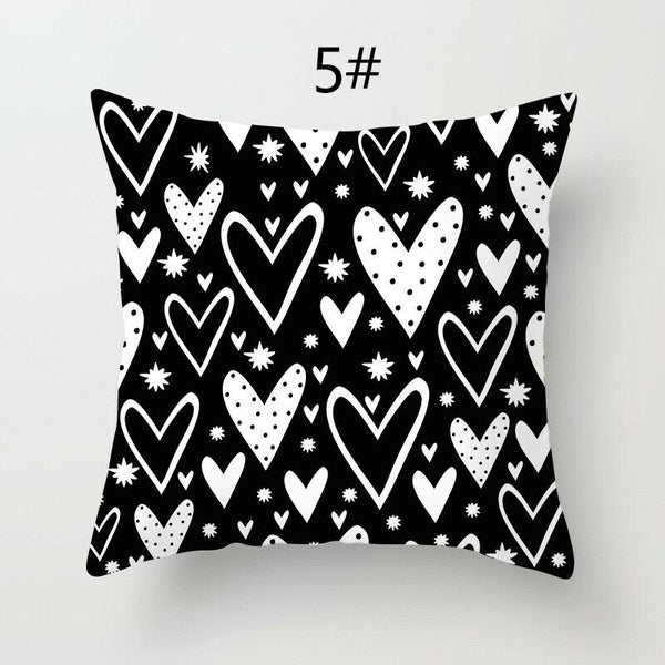 18'' Square Geometric Throw Pillow Case Back Cushion Cover Home Sofa Decor 34CA
