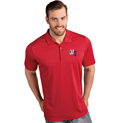 MENS TRIBUTE POLO-RED