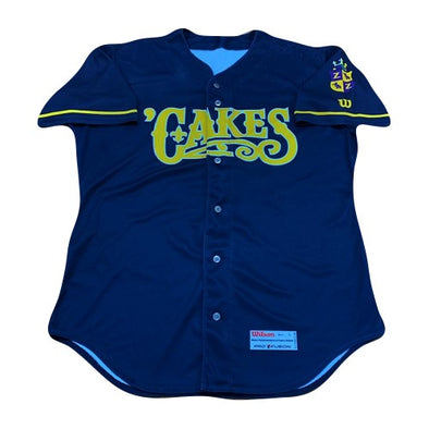 2019 BABY CAKES GAME WORN ALT NAVY JERSEY