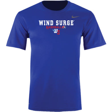 LEGEND SHORT SLEEVE ROYAL DRI FIT