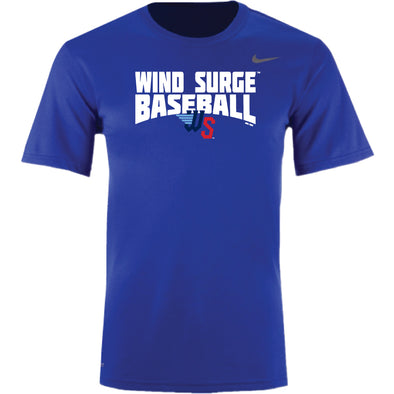 YOUTH LEGEND SHORT SLEEVE ROYAL DRI FIT