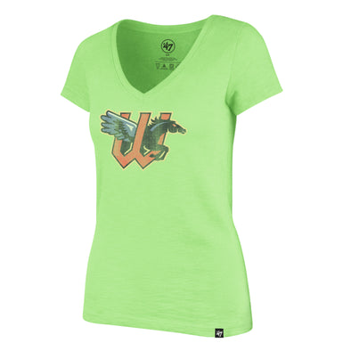 GRIT SCRUM V NECK TEE WOMENS