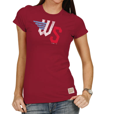 WOMEN'S BASIC TEE-RED