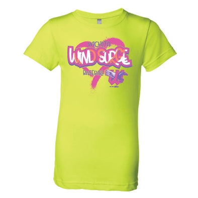GIRLS NEON PRINCESS TEE