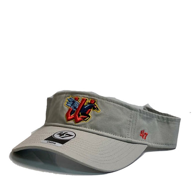 GREY CLEAN UP VISOR