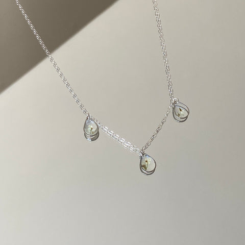 Triple Tear Drop Necklace