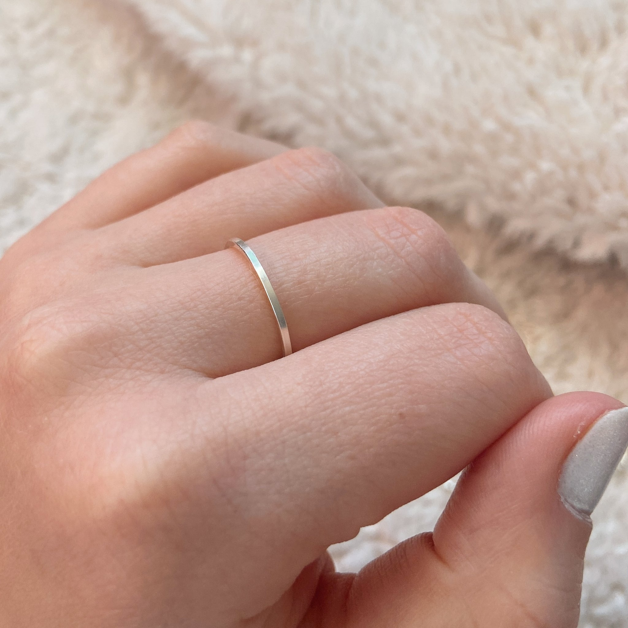 Simple Stacker Ring