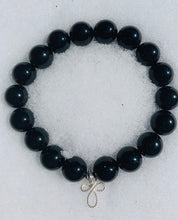 Load image into Gallery viewer, I Am Enough ~ Black Onyx Bracelet
