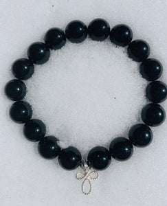 I Am Enough ~ Black Onyx Bracelet