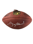 Julian Edelman New England Patriots Signed Duke Official Football JSA Witness
