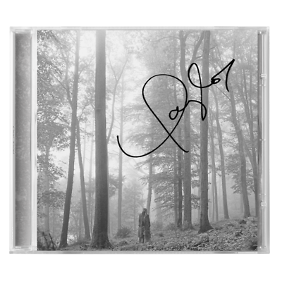 Taylor Swift Signed Autographed CD Folklore 2020 Brand New Sealed In The Trees