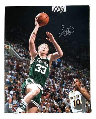 Larry Bird Boston Celtics Signed Autographed 16x20 Photo Bird Hologram