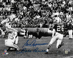 Gino Cappelletti Babe Parilli New England Patriots Signed Autographed 8x10 Photo