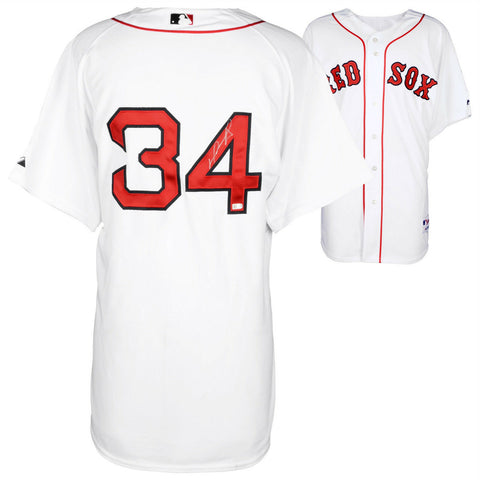 David Ortiz Boston Red Sox Signed Autographed Authentic White Jersey FANATICS