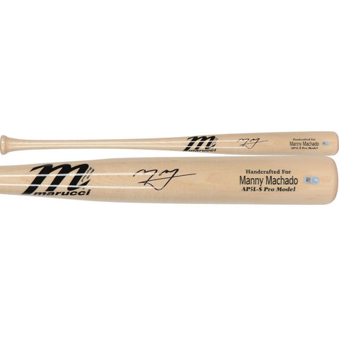 Manny Machado San Diego Padres Signed Autographed Game Model Bat Fanatics