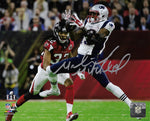 Malcolm Mitchell New England Patriots Signed Autographed Super Bowl 16x20 Photo