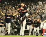 Christian Vazquez Boston Red Sox Signed Autographed World Series 16x20 Photo JSA