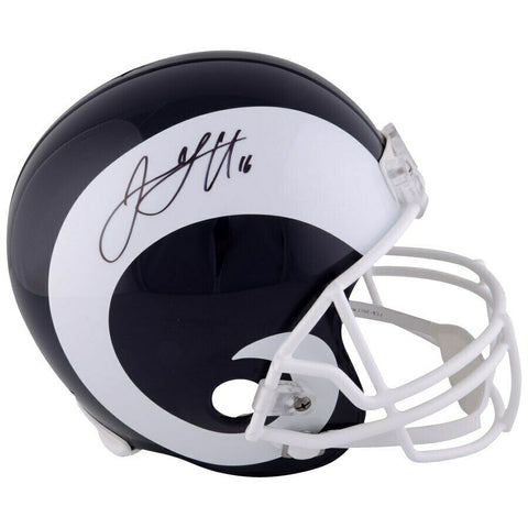 Jared Goff Los Angeles Rams Signed Full Size Speed Replica Helmet Fanatics