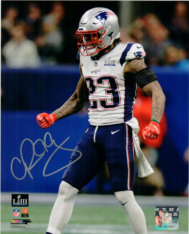 Patrick Chung New England Patriots Signed 8x10 Photo SB 53 JSA