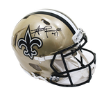Drew Brees New Orleans Saints Signed Full Size Authentic Speed Helmet BAS