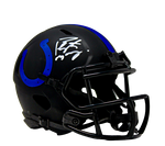 Peyton Manning Indianapolis Colts Signed Authentic Eclipse Mini Helmet Fanatics