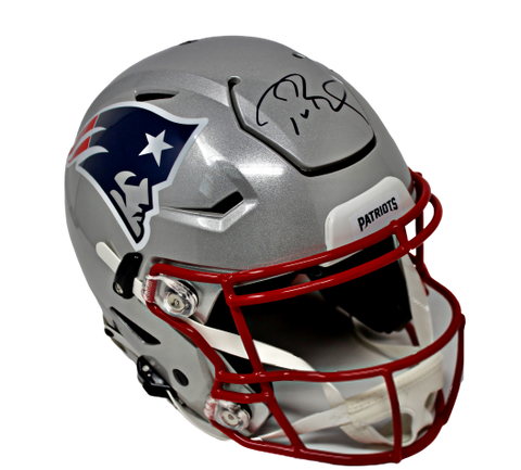 Tom Brady New England Patriots Signed Speed Flex Authentic Helmet Fanatics