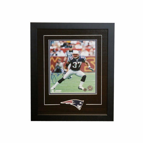 Rodney Harrison New England Patriots Signed Autographed 8x10 Photo Framed