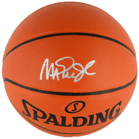 Magic Johnson Los Angeles Lakers Signed Autographed Spalding Basketball FANATICS