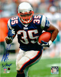 Patrick Pass New England Patriots Signed Autographed Home 8x10 Photo 3x Champ