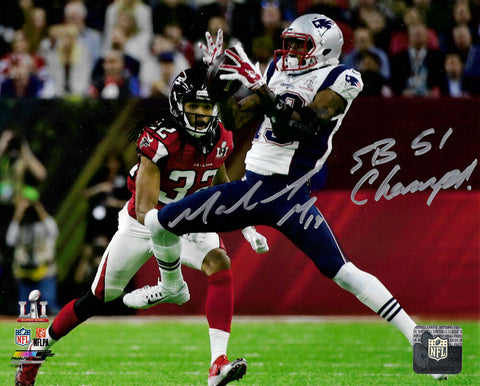 Malcolm Mitchell New England Patriots Signed Autographed SB Champs 8x10 Photo