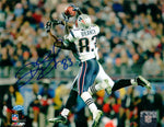 Deion Branch New England Patriots Signed Autographed 16x20 Photo SB XXXIX