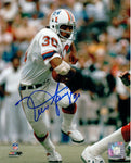 Mosi Tutupu New England Patriots Signed Autographed Away 8x10 Photo
