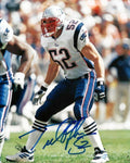 Ted Johnson New England Patriots Signed Autographed 8x10 Photo