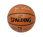 Zion Williamson New Orleans Pelicans Signed Silver Autograph Basketball FANATICS