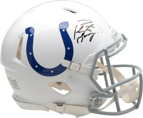 Peyton Manning Indianapolis Colts Signed Full Speed Authentic Helmet Fanatics