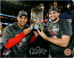 Nathan Eovaldi Boston Red Sox Signed Autographed World Series 8x10 Photo JSA