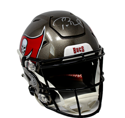 Tom Brady Tampa Bay Buccaneers Signed Speed Flex Authentic Helmet Fanatics