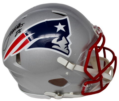 James White New England Patriots FS Authentic Speed Signed Helmet Fanatics