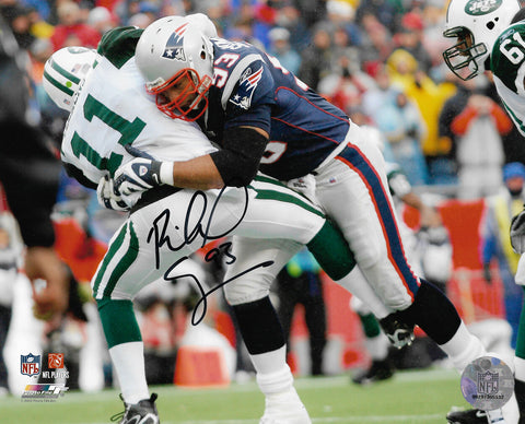 Richard Seymour New England Patriots Signed Autographed Jets Tackle 8x10 Photo