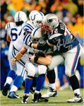 Joe Vellano New England Patriots Signed Autographed Tackle 8x10 Photo