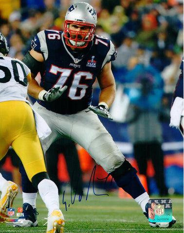 Sebastian Vollmer New England Patriots Signed Autographed 8x10 Photo