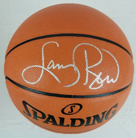 Larry Bird Boston Celtics Signed Autographed Official Basketball BIRD HOLOGRAM