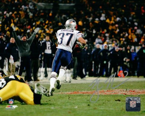 Rodney Harrison New England Patriots Signed Autographed 8x10 vs Pitts Photo