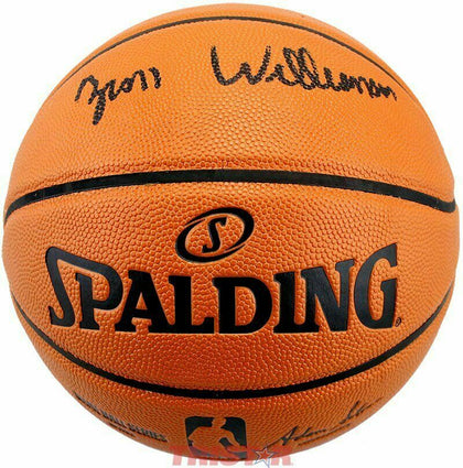 Zion Williamson New Orleans Pelicans Signed Autographed Basketball FANATICS