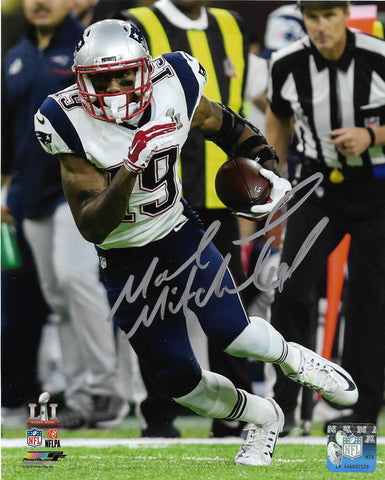 Malcolm Mitchell New England Patriots Signed Autographed Super Bowl 8x10 Photo