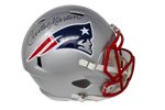 Curtis Martin New England Patriots Signed Full Size Speed Authentic Helmet JSA
