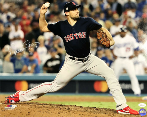 Nathan Eovaldi Boston Red Sox Signed Autographed World Series 16x20 Photo JSA