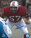 Steve Nelson New England Patriots Signed Autographed 8x10 Photo