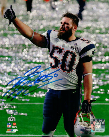 Rob Ninkovich New England Patriots Signed Autographed SB 49 8x10