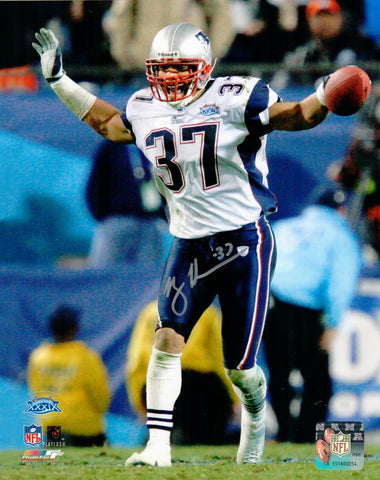Rodney Harrison New England Patriots Signed Autographed 8x10 SB 39 Photo